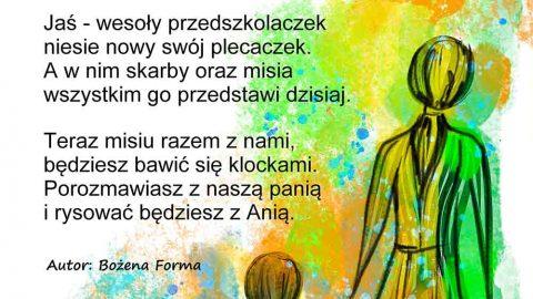 jasio przedszkolak - wierszyki dla dzieci - abc forma