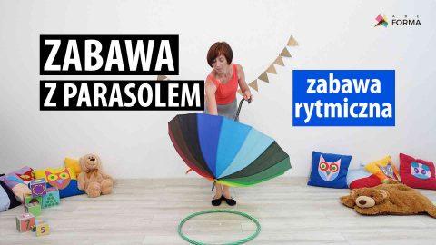 Zabawa z parasolem - zabawy dla dzieci - abc forma