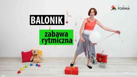 zabawy dla dzieci - balonik - abc forma