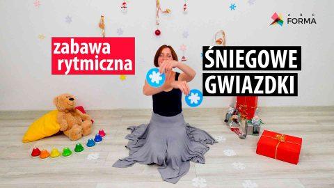 zabawy dla dzieci - śniegowe gwiazdki - abc forma