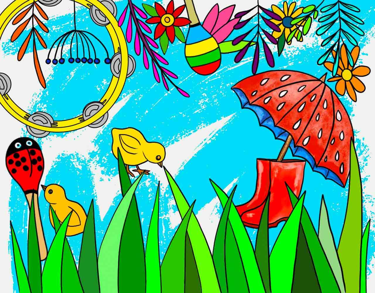 Wiosenne nastroje - szkolenie dla nauczycieli - abc forma